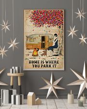 Camping Girl Where You Park It 11x17 Poster lifestyle-holiday-poster-1