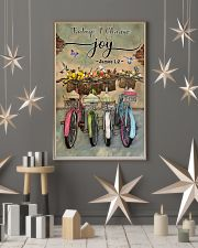 Green Pallet Bicycle Today I Choose Joy 11x17 Poster lifestyle-holiday-poster-1