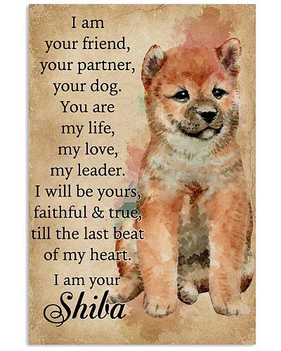 I Am Your Friend Shiba Inu