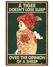 A Tiger Does Not Lose Sleep Tattoo 16x24 Poster front