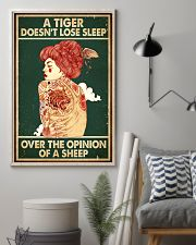 A Tiger Does Not Lose Sleep Tattoo 16x24 Poster lifestyle-poster-1