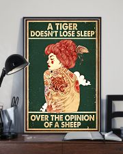 A Tiger Does Not Lose Sleep Tattoo 16x24 Poster lifestyle-poster-2