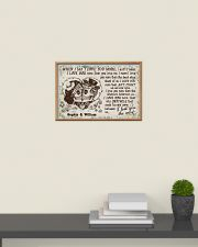 Personalized Skull I Love You The Most 24x16 Poster poster-landscape-24x16-lifestyle-09