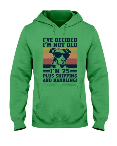Retro Navy Decided Not Old Pit Bull