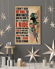 I Ride To Find Peace Cycling 16x24 Poster lifestyle-holiday-poster-1