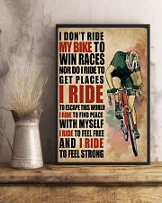 I Ride To Find Peace Cycling 16x24 Poster lifestyle-poster-3