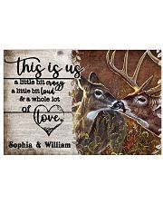 Personalized Deer Color A Little Bit Of 24x16 Poster front