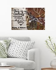 Personalized Deer Color A Little Bit Of 24x16 Poster poster-landscape-24x16-lifestyle-01