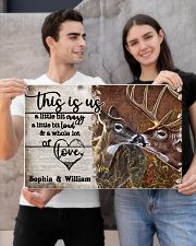Personalized Deer Color A Little Bit Of 24x16 Poster poster-landscape-24x16-lifestyle-21