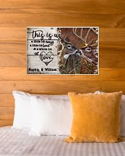 Personalized Deer Color A Little Bit Of 24x16 Poster poster-landscape-24x16-lifestyle-27