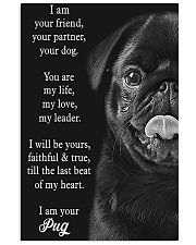 Pug Your Are My Life My Love 11x17 Poster front
