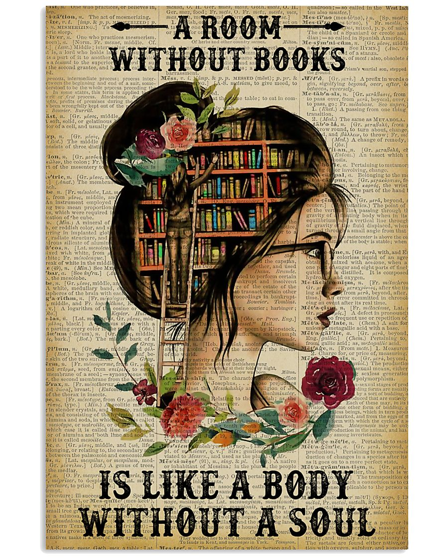A Room Without Books Reading 11x17 Poster