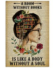 A Room Without Books Reading 11x17 Poster front