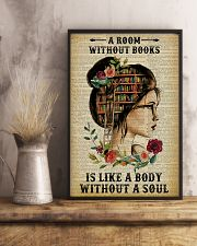 A Room Without Books Reading 11x17 Poster lifestyle-poster-3