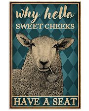 Why Hello Sweet Cheeks Sheep 16x24 Poster front