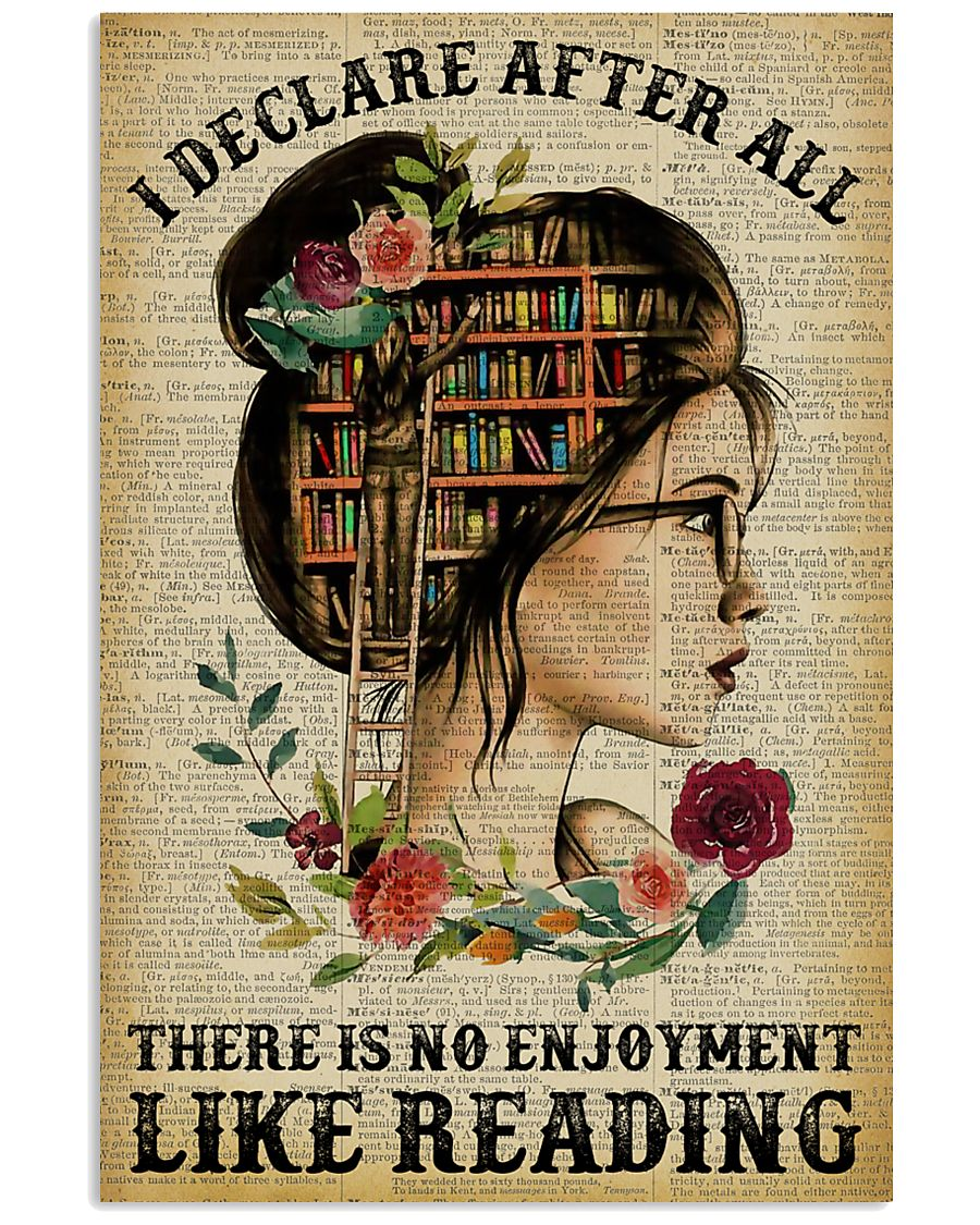 I Declare After All Reading 11x17 Poster