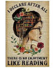 I Declare After All Reading 11x17 Poster front