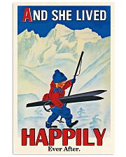 Happily Ever After Skiing 16x24 Poster front