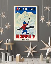 Happily Ever After Skiing 16x24 Poster lifestyle-holiday-poster-1