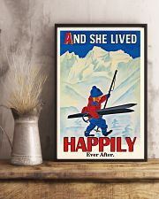 Happily Ever After Skiing 16x24 Poster lifestyle-poster-3