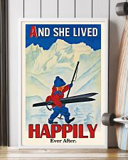 Happily Ever After Skiing 16x24 Poster lifestyle-poster-4
