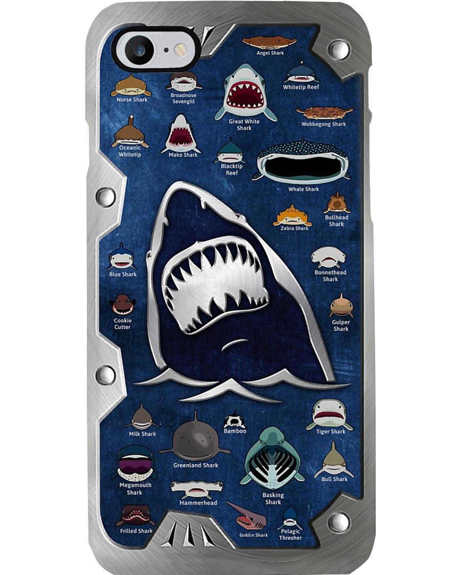 Printed Shark Jaw Phone Case