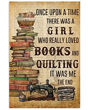 Once Upon A Time Reading Quilting 11x17 Poster front