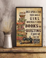Once Upon A Time Reading Quilting 11x17 Poster lifestyle-poster-3