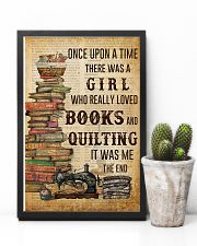 Once Upon A Time Reading Quilting 11x17 Poster lifestyle-poster-8