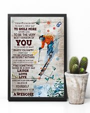 Skiing Today Is A Good Day 11x17 Poster lifestyle-poster-8