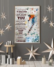 Skiing Today Is A Good Day 16x24 Poster lifestyle-holiday-poster-1