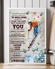 Skiing Today Is A Good Day 16x24 Poster lifestyle-poster-4