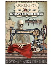 Sewing Room Skeleton 16x24 Poster front