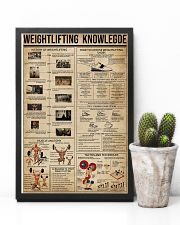 Weightlifting Knowledge 11x17 Poster lifestyle-poster-8