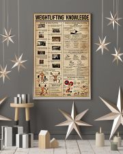 Weightlifting Knowledge 16x24 Poster lifestyle-holiday-poster-1
