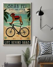 Cycling Club Shar Pei 11x17 Poster lifestyle-poster-1
