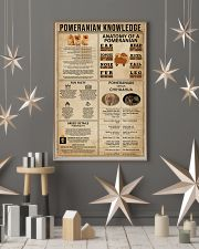 Pomeranian Knowledge 11x17 Poster lifestyle-holiday-poster-1