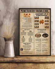 Pomeranian Knowledge 11x17 Poster lifestyle-poster-3