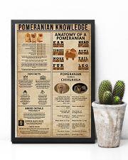 Pomeranian Knowledge 11x17 Poster lifestyle-poster-8