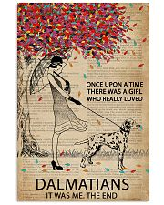 Dictionary Girl Once Upon Dalmatian 11x17 Poster front