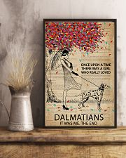 Dictionary Girl Once Upon Dalmatian 11x17 Poster lifestyle-poster-3