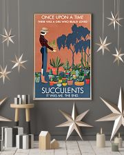 Vintage Once Upon A Time Succulent 16x24 Poster lifestyle-holiday-poster-1