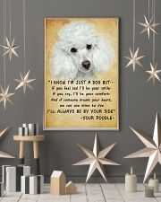 Poodle Always Be By Your Side 11x17 Poster lifestyle-holiday-poster-1