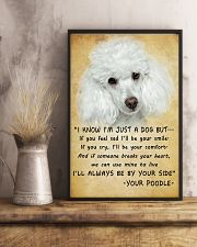 Poodle Always Be By Your Side 11x17 Poster lifestyle-poster-3