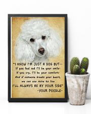 Poodle Always Be By Your Side 11x17 Poster lifestyle-poster-8