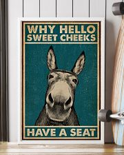 Have A Seat Donkey 16x24 Poster lifestyle-poster-4