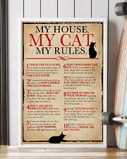 My House My Cat My Rules 16x24 Poster lifestyle-poster-4