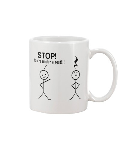 Musician Stop You Are Under A Rest