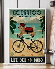 Cycling Club Cockapoo 11x17 Poster lifestyle-poster-4