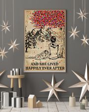 Dictionary Girl Happily Ever Bulldog 11x17 Poster lifestyle-holiday-poster-1